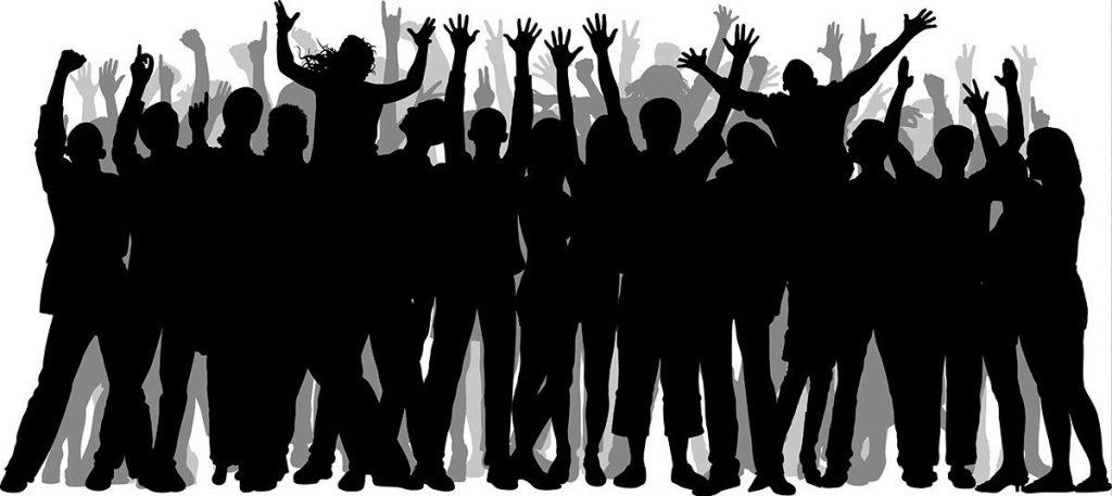 Jak být úspěšný člověk - dav