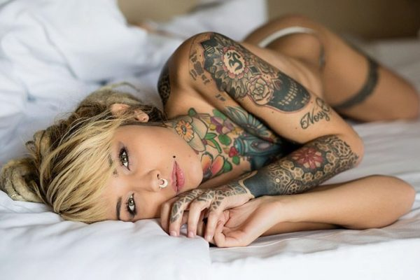 tetování na ženách