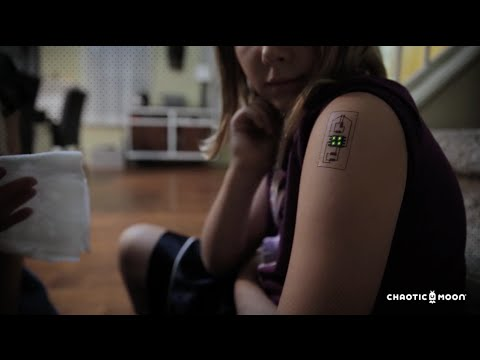 Clever Tattoos Wearable Technologies Tack Tats OMG  720 HD